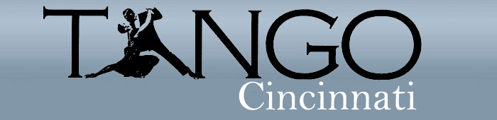 Tango dance activities in the Cincinnati area.Logo